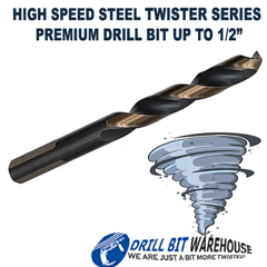 Premium High Speed Steel Drill Bits- All Types