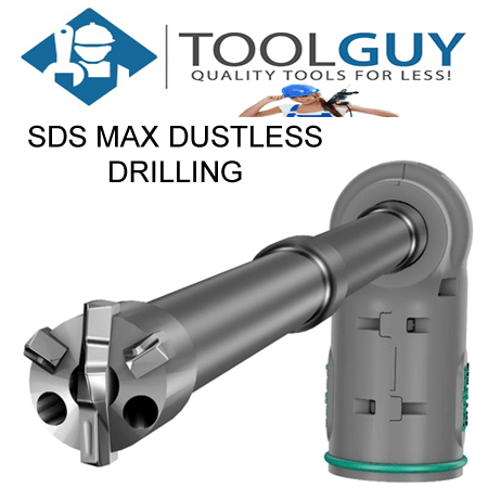 DUST FREE CONCRETE DRILLING SYSTEM