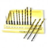 13PC HEX SHANK Titanium Drill Set