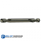 #20 High Speed Steel Double Ended Split Point Drill Bit (Pack of 12)