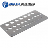 Drill Gauge for Fractional Sizes 1/16