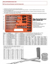 25 Piece Screw Extractor and Drill Guide Set