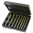 7pc. MULTI-ANGLE Titanium Drill Bit Set