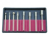 10pc. Diamond Point Bit Set 1/4
