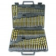 115pc. Titanium Drill Set with Case. GREAT GIFT