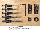 10 PIECE LIMITED EDITION DRILL AND COUNTERSINK SET