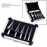 6pc TERMINATOR METRIC PRO-SERIES STEP DRILL SET