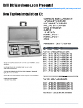 New TAPCON Installation Kit