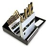 19 piece SAE Tap & Drill Set NC