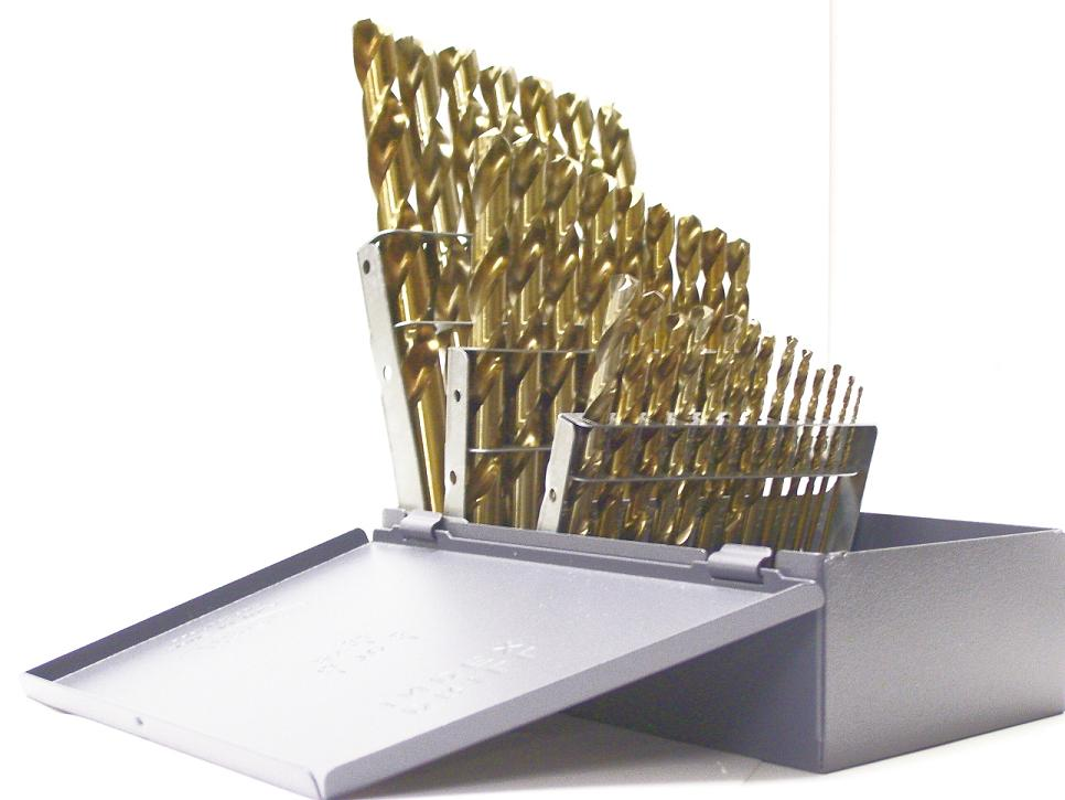 A - Z Letter Sizes M42 Cobalt Gold Drill Bit Set