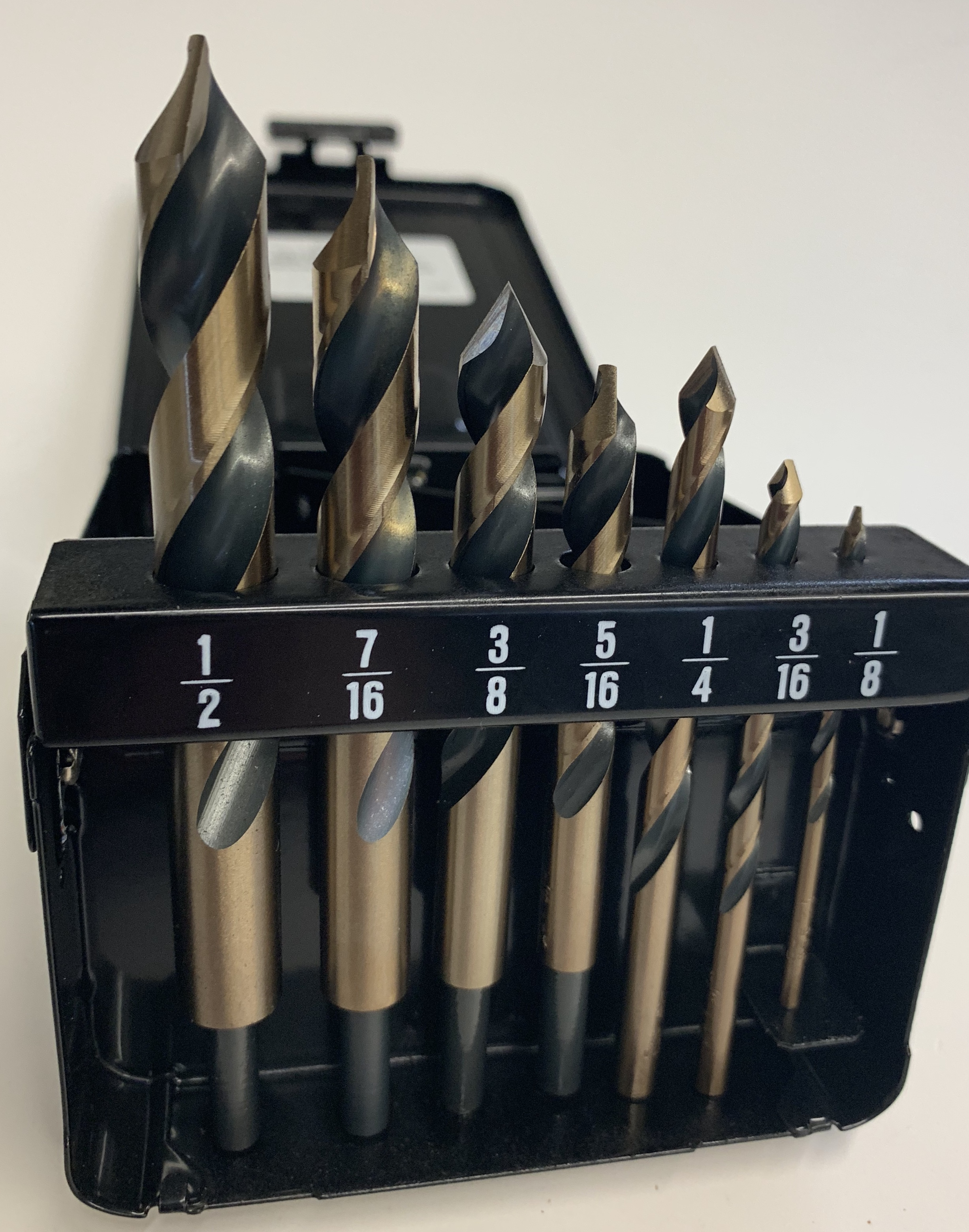 8pc ACRYLI-DRILL Set For Plastics, Acrylics & Rubber
