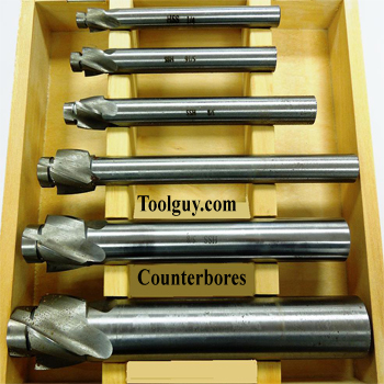High Speed Counterbore Set