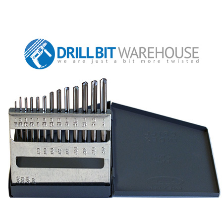 """TERMINATOR EXTREME"" -HR13 HI-ROC SUB-MICRON CARBIDE Drill Set. (DR-CSF13)"